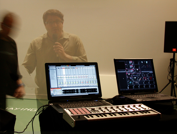 live electro-vjaying avec Ableton live et resolume